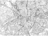 Cartina di Madrid, città, strade e vie, Spagna - 162051810