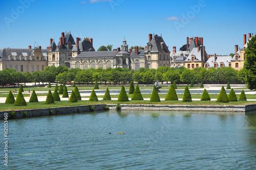 Plakat Schloss Fontainebleau