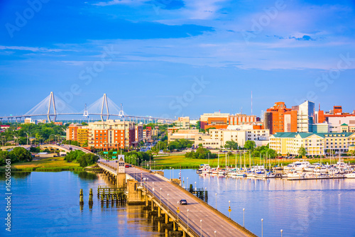 Fototapeta premium Charleston, Karolina Południowa, USA