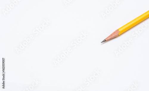 Fotografie, Obraz  pencil on white background