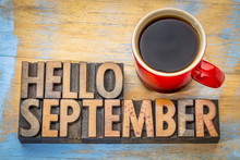 Hello September  Word Abstract...