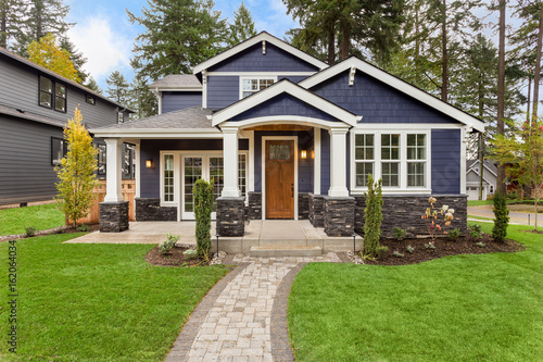 Beautiful, Newly Built Luxury Home Exterior