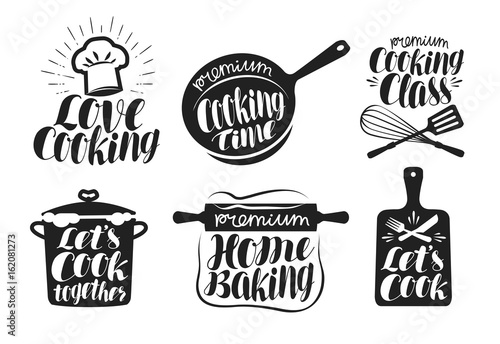 Photo  Cooking label set