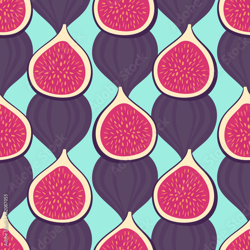 figs-pattern-on-mint-green-background-seamless-decorative-background-with-figs-summer-fruit-vector-illustration-design-for-wallpaper-fabric-decor-textile