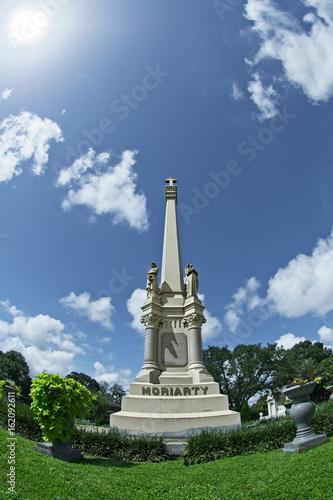 Fotografie, Obraz  Tall Monument Grave Marker