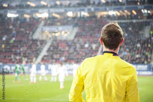 Photo Professioneller Fußball Schiedsrichter