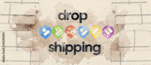 Fotografía  Dropshipping Works. Direct delivery. Post services.