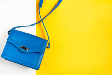 Woman Purse On Colorful Backgr...