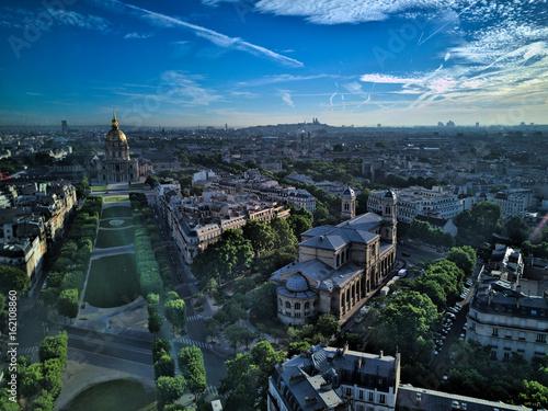 Poster  Paris, vue aérienne 2