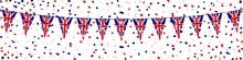 Banner. Garland, Pennants, Confetti. United Kingdom (1)