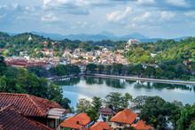 Beautiful View Of Kandy In Sri...