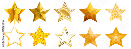 star compilation in different styles Canvas Print