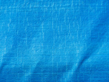 Abstract Blue Plastic Woven Sack Texture