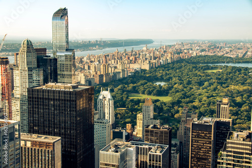 Carta da parati New York skyline with Central Park, United States