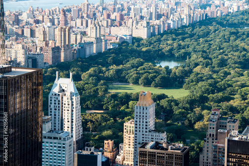 Foto New York skyline with Central Park, United States