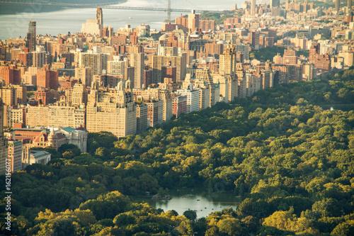Plakat Panoramę Nowego Jorku z Central Parku, Stany Zjednoczone