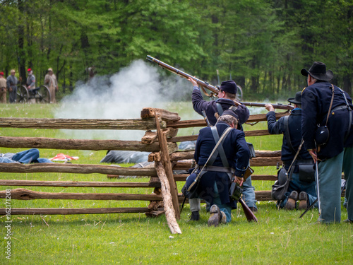 Fotografija civil war reenactment