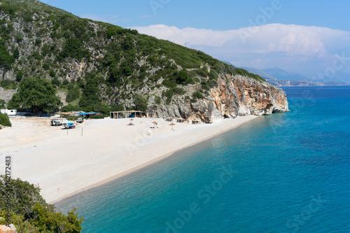 Photo  Gjipe beach in Albania