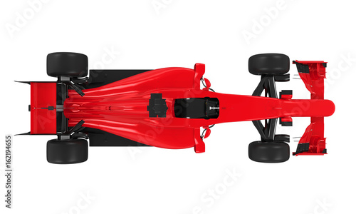 Wall Murals F1 Formula One Race Car Isolated