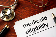 Document With Title Medicaid E...