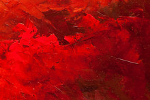 Abstract Oil Paint Texture On ...