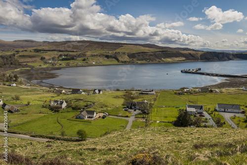 Idrigil Scotland View Tableau sur Toile