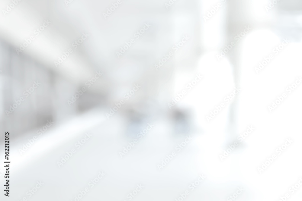 Fototapety, obrazy: White blur medical abstract background