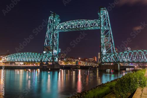 Staande foto Rotterdam Bridge De Hef in Rotterdam Netherlands