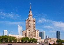 Warsaw City Center With Palace...