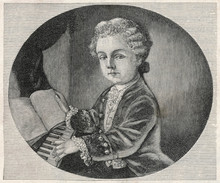 Mozart - Aged 4. Date: 1756 - ...