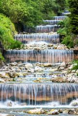 Fototapeta Wodospad small waterfall