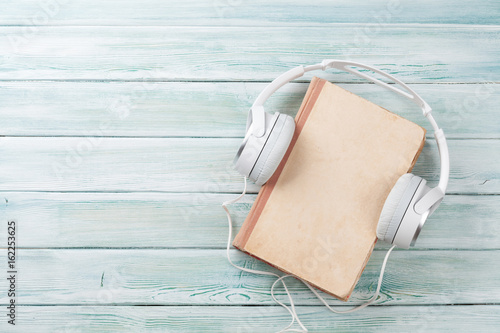 Fotografie, Obraz  Audio book concept