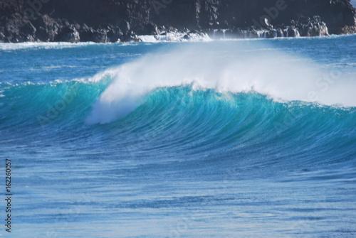 Stickers pour porte Eau hawaiianische Welle 5