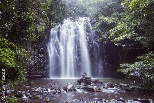 Printed kitchen splashbacks Eggplant Elinjaa Falls Wasserfall