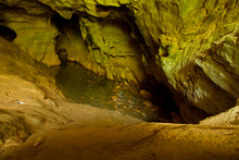 Cave With An Underground River