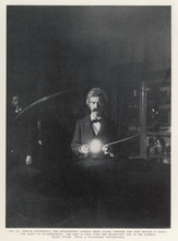 Tesla Coil - Twain. Date: 1895