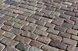 Old stone pavement pattern.