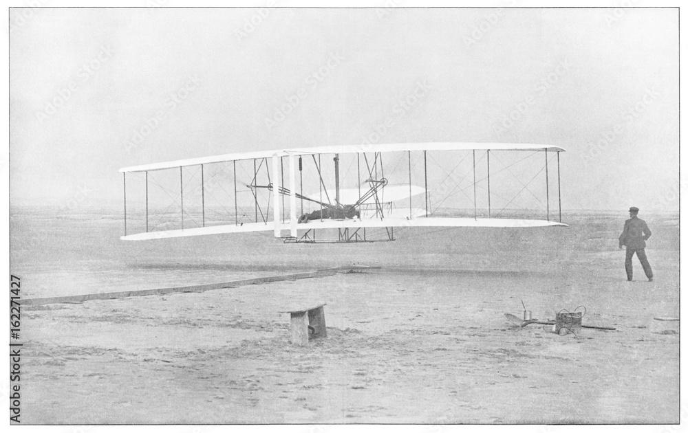Fototapety, obrazy: Wright 1903 Photo. Date: 1447