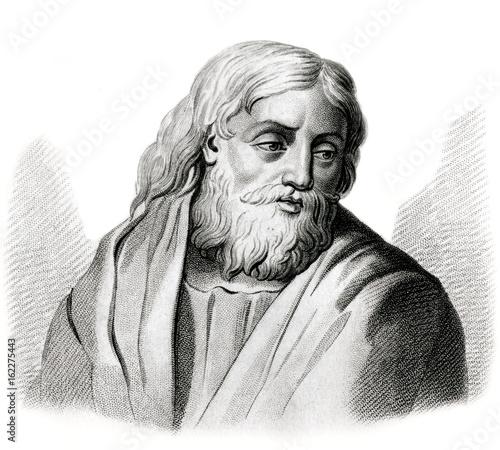 Fotografiet Claudius Galen  Greek physician. Date: circa 129 - 199 or 217