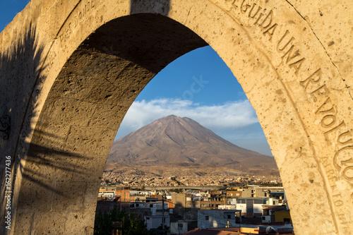 Yanahuara Viewpoint in Arequipa Fototapet