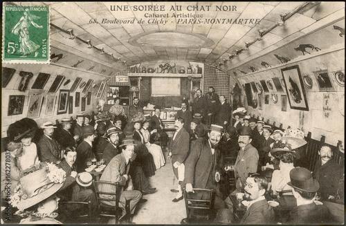 Photo  Le Chat Noir - 1908. Date: 1908