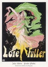 Loie Fuller - Cheret 1890s. Da...