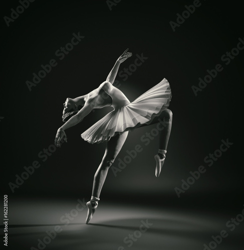 Beautiful ballerina Canvas Print
