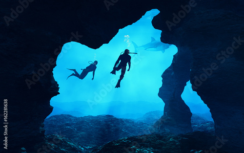 Fotografia Teenagers  swimming