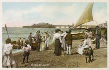 Brighton's Pebbly Beach. Date:...