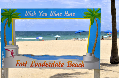 Photo  Fort Lauderdale Beach Wish you were here