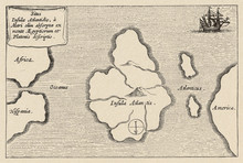 Map Of Atlantis - Kircher. Dat...