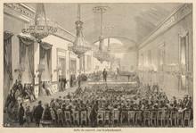 Salle Pleyel  Paris. Date: 1855