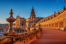 Seville, Spain: The Plaza De E...