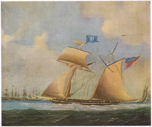 American Privateer. Date: Circa 1815